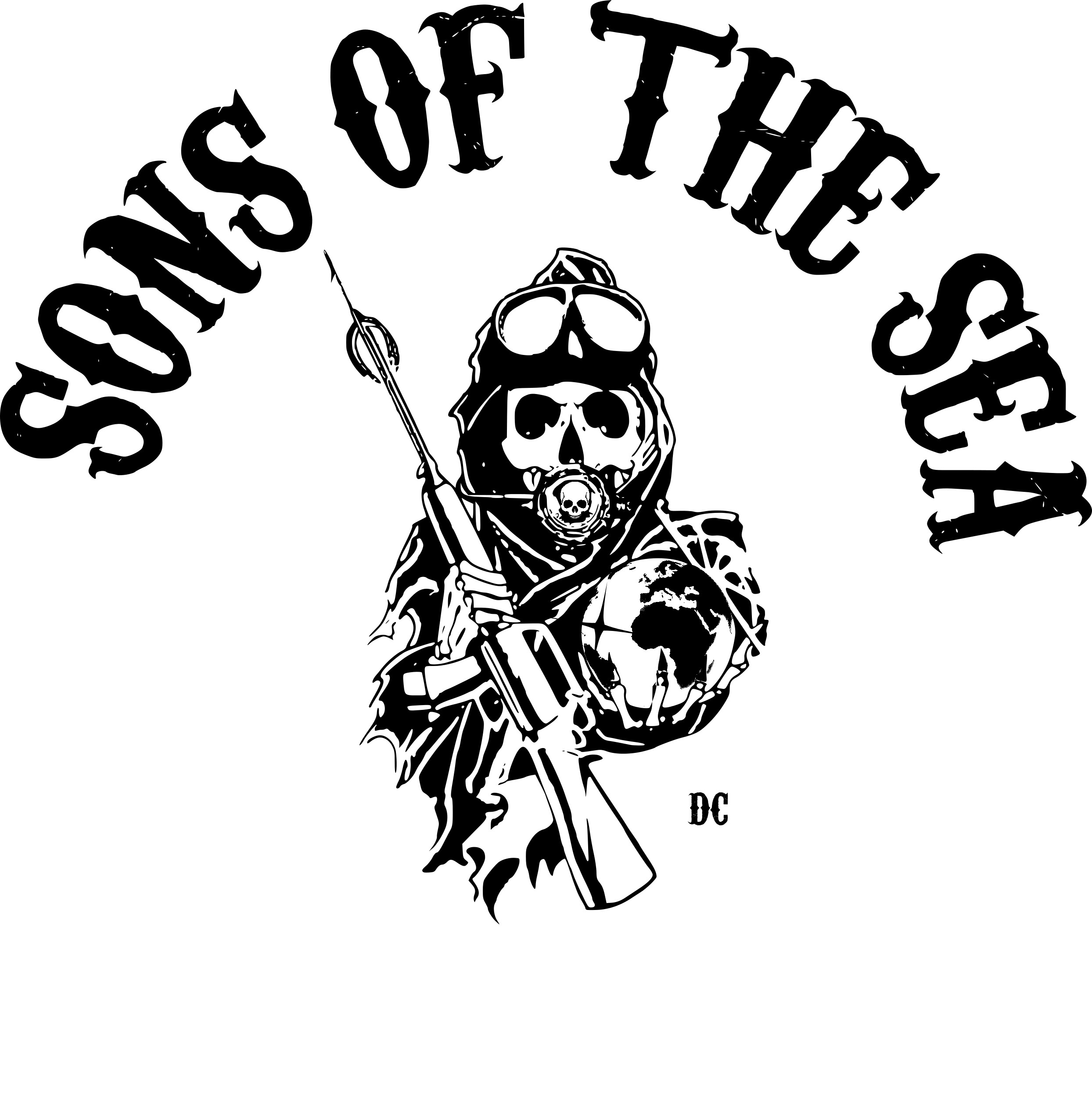 Sons of the Sea - Logo on white